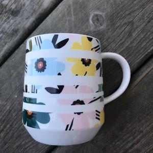 Starbucks Coffee Tea Mug Drinkware Floral Flowers